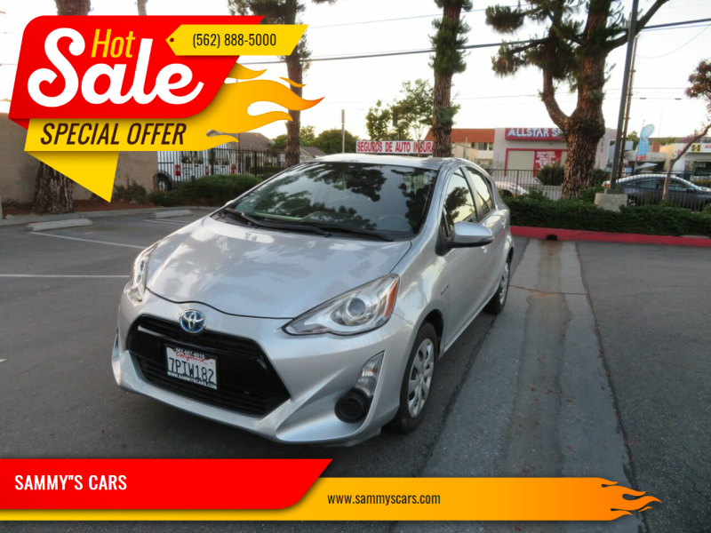 """2015 Toyota Prius c for sale at SAMMY""""S CARS in Bellflower CA"""