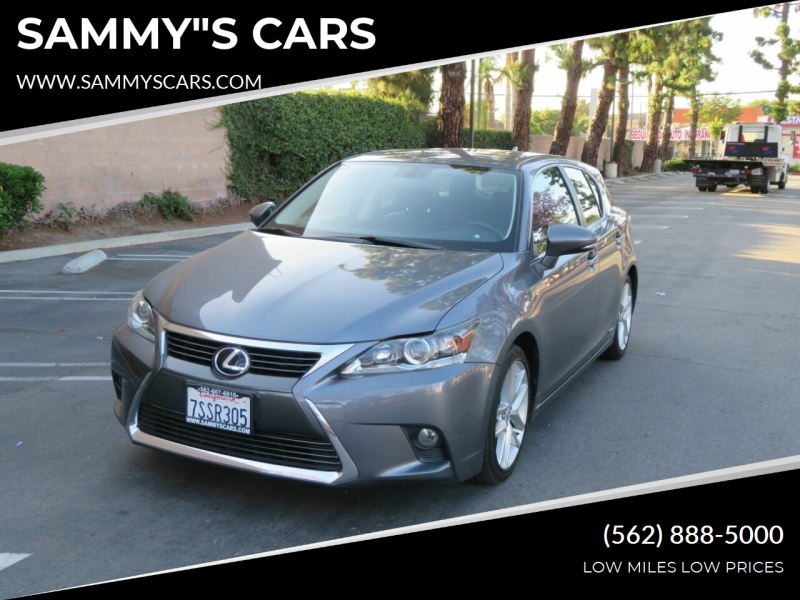 "2016 Lexus CT 200h for sale at SAMMY""S CARS in Bellflower CA"