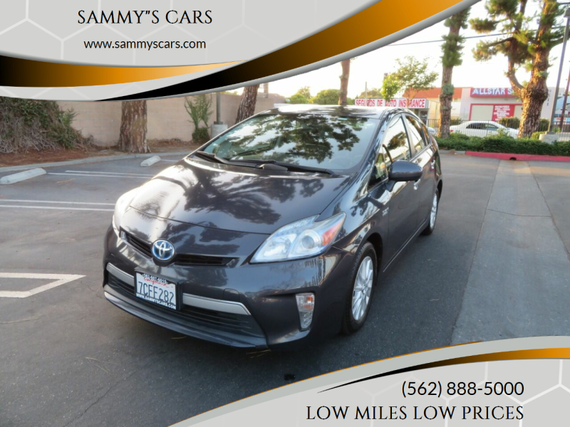"""2013 Toyota Prius Plug-in Hybrid for sale at SAMMY""""S CARS in Bellflower CA"""
