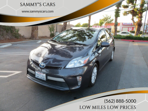 "2013 Toyota Prius Plug-in Hybrid for sale at SAMMY""S CARS in Bellflower CA"