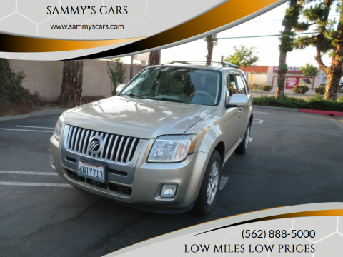"2010 Mercury Mariner for sale at SAMMY""S CARS in Bellflower CA"
