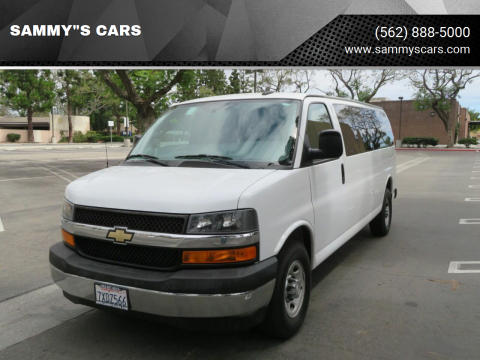 "2017 Chevrolet Express Passenger for sale at SAMMY""S CARS in Bellflower CA"