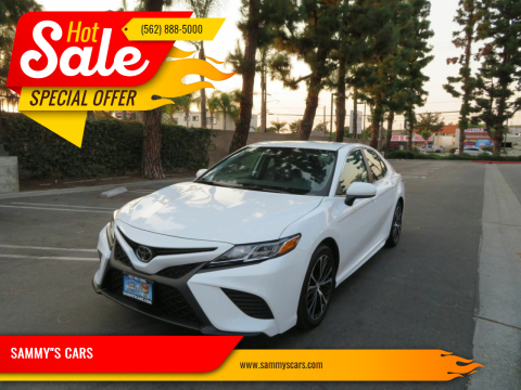 """2020 Toyota Camry for sale at SAMMY""""S CARS in Bellflower CA"""