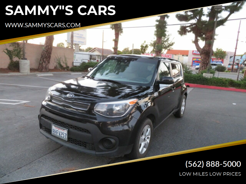 "2019 Kia Soul for sale at SAMMY""S CARS in Bellflower CA"