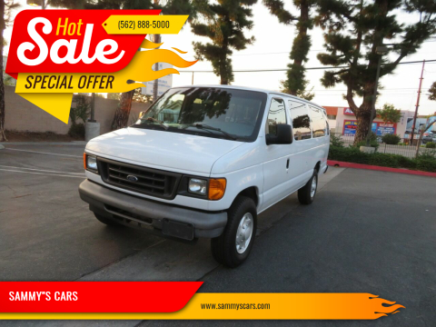 """2007 Ford E-Series Wagon for sale at SAMMY""""S CARS in Bellflower CA"""