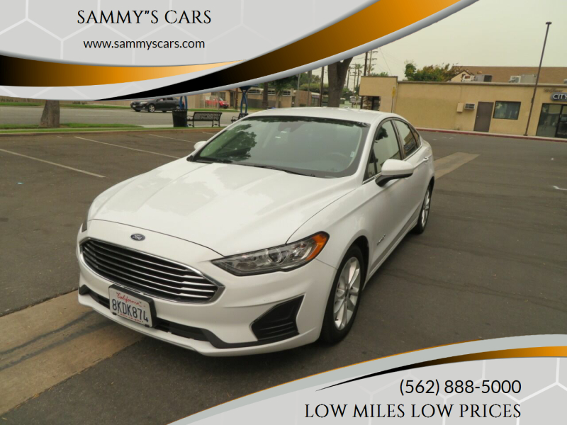 """2019 Ford Fusion Hybrid for sale at SAMMY""""S CARS in Bellflower CA"""