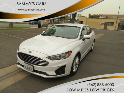 "2019 Ford Fusion Hybrid for sale at SAMMY""S CARS in Bellflower CA"