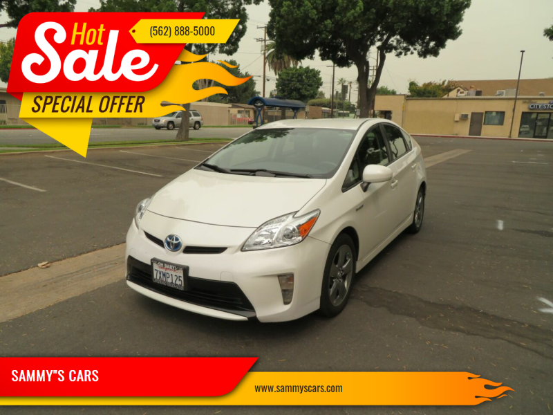"""2013 Toyota Prius for sale at SAMMY""""S CARS in Bellflower CA"""