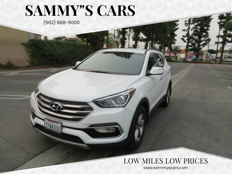 "2017 Hyundai Santa Fe Sport for sale at SAMMY""S CARS in Bellflower CA"