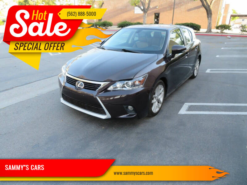 "2015 Lexus CT 200h for sale at SAMMY""S CARS in Bellflower CA"