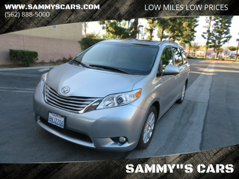 "2017 Toyota Sienna for sale at SAMMY""S CARS in Bellflower CA"