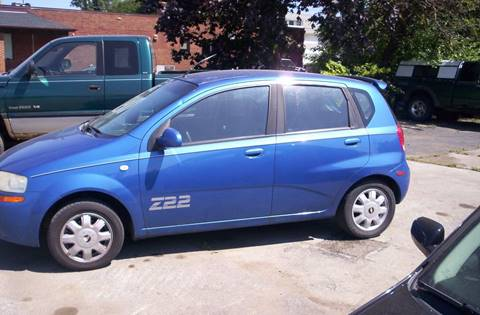 2005 Chevrolet Aveo for sale in Girard, OH