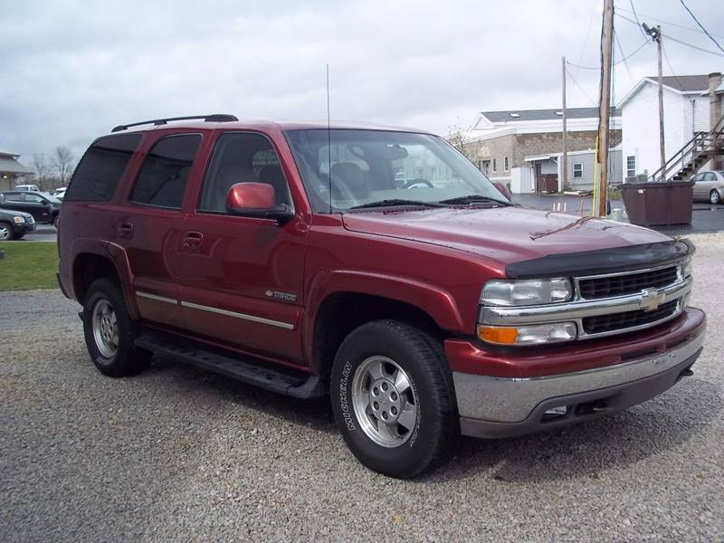 2003 Chevrolet Tahoe LT 4WD 4dr SUV - Gifford IL
