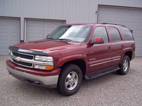 2003 Chevrolet Tahoe for sale at Robin's Truck Sales in Gifford IL