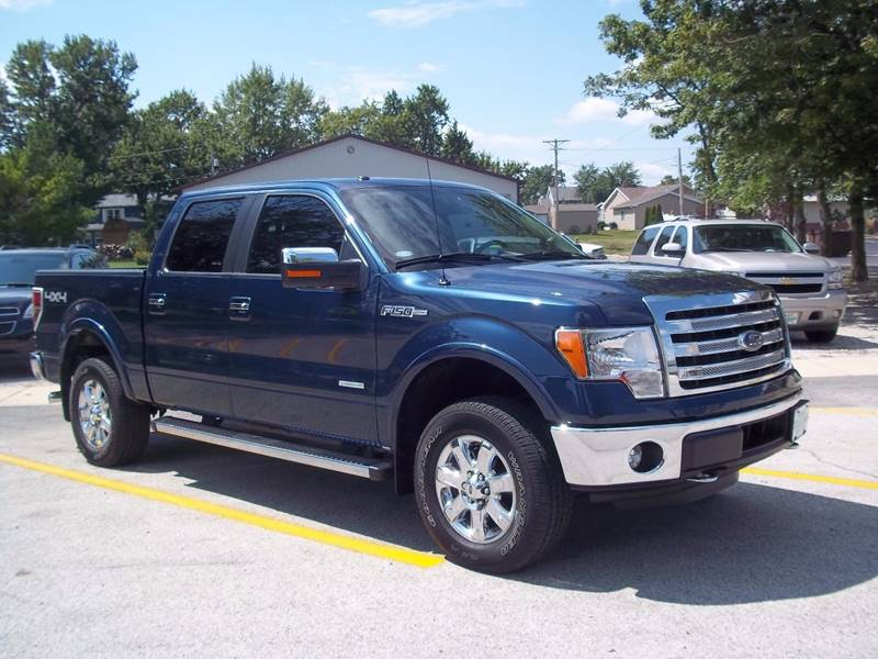 2014 Ford F-150 4x4 Lariat 4dr SuperCrew Styleside 5.5 ft. SB - Gifford IL