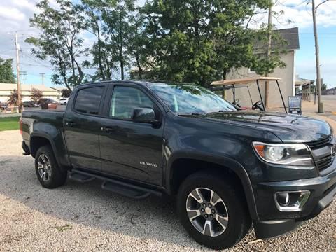 2017 Chevrolet Colorado Z71 for sale at Robin's Truck Sales in Gifford IL