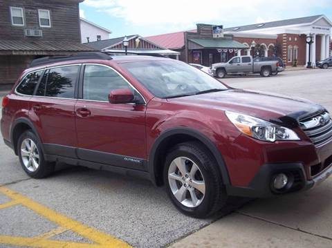 2014 Subaru Outback for sale at Robin's Truck Sales in Gifford IL