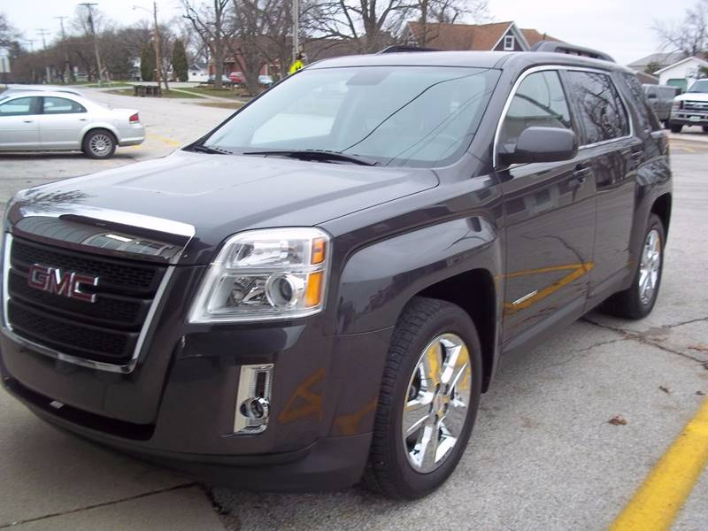 2014 GMC Terrain for sale at Robin's Truck Sales in Gifford IL
