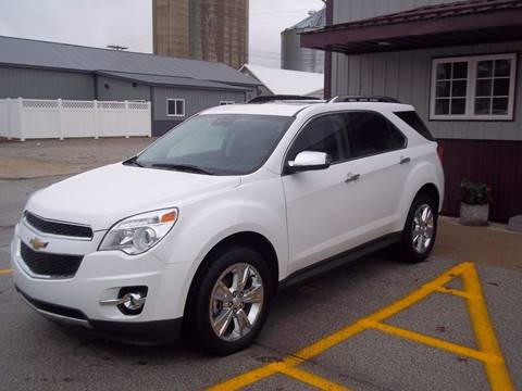2015 Chevrolet Equinox for sale at Robin's Truck Sales in Gifford IL