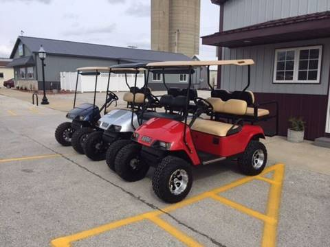 2010 EZ-GO Golf Carts