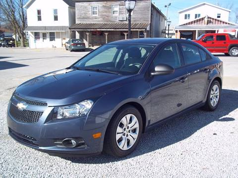 2014 Chevrolet Cruze for sale at Robin's Truck Sales in Gifford IL