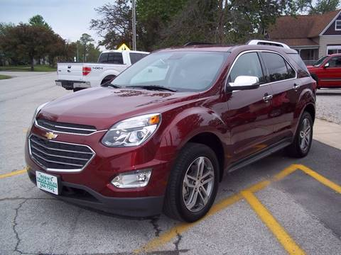 2016 Chevrolet Equinox for sale in Gifford, IL