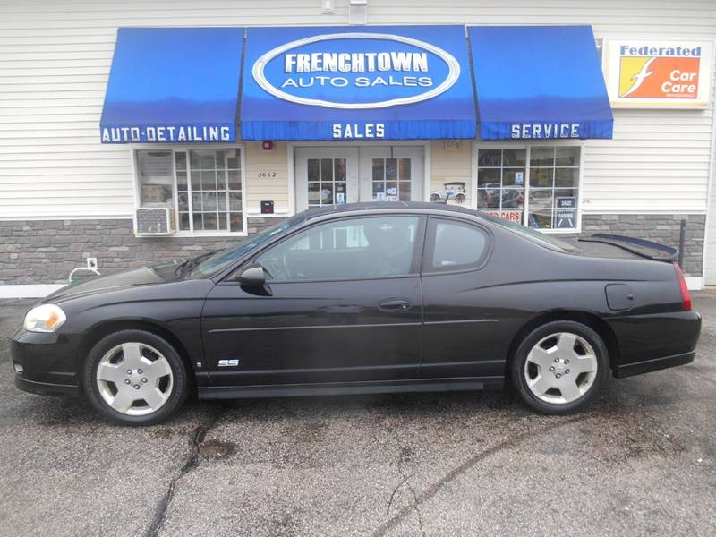 2006 Chevrolet Monte Carlo Ss 2dr Coupe In North Kingstown Ri Frenchtown Auto Sales