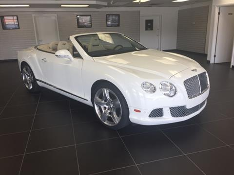 2012 Bentley Continental GTC for sale in Fayetteville, NC
