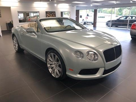 2013 Bentley Continental GTC V8 for sale in Fayetteville, NC