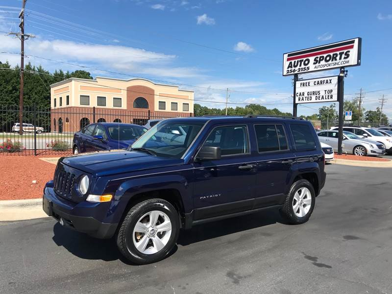 2013 Jeep Patriot 4x4 Sport 4dr SUV   Hickory NC