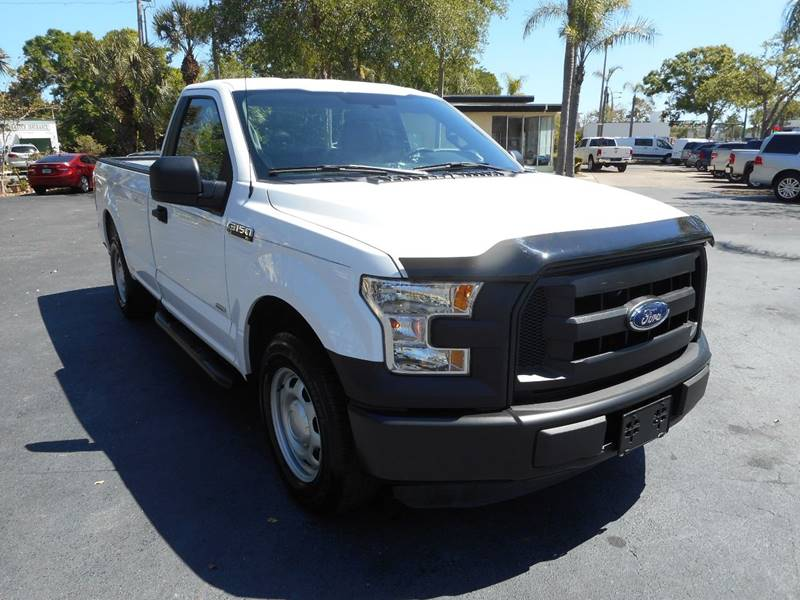 2016 Ford F-150 4x2 XL 2dr Regular Cab 8 ft. LB In Vero Beach FL ...