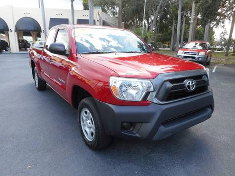 2015 Toyota Tacoma for sale at OLD SOUTH SALES in Vero Beach FL