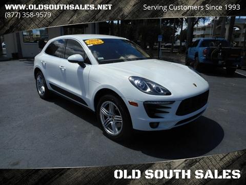 Porsche Macan For Sale In Vero Beach Fl Old South Sales
