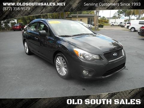 2012 Subaru Impreza for sale at OLD SOUTH SALES in Vero Beach FL