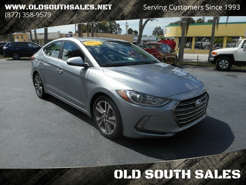 2017 Hyundai Elantra for sale at OLD SOUTH SALES in Vero Beach FL