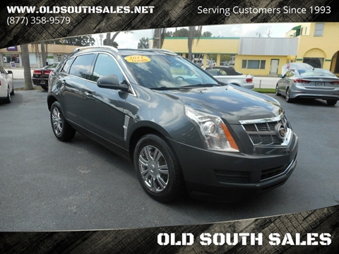 2011 Cadillac SRX for sale at OLD SOUTH SALES in Vero Beach FL