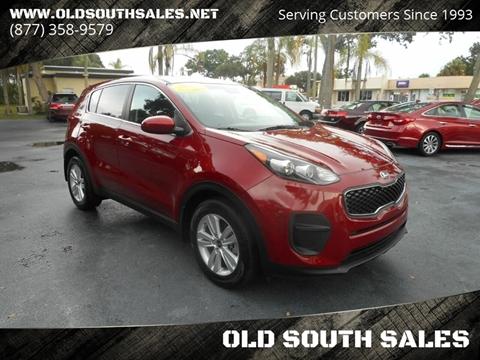 2017 Kia Sportage for sale at OLD SOUTH SALES in Vero Beach FL