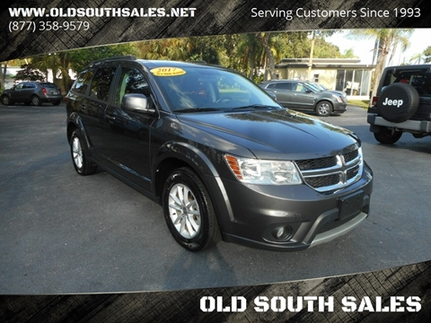 2017 Dodge Journey for sale at OLD SOUTH SALES in Vero Beach FL