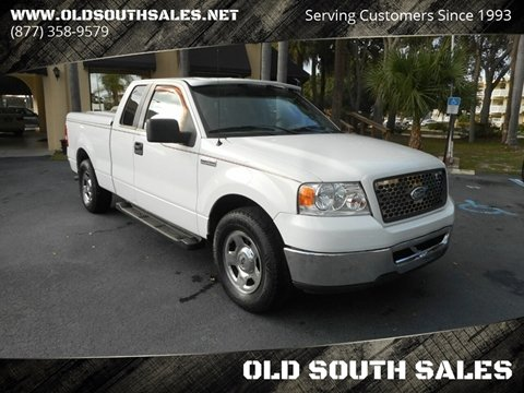 2006 Ford F-150 for sale at OLD SOUTH SALES in Vero Beach FL