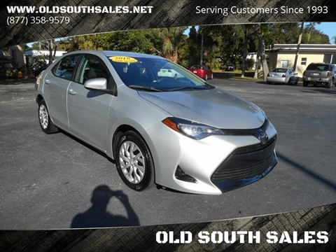 2018 Toyota Corolla for sale at OLD SOUTH SALES in Vero Beach FL