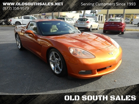 2008 Chevrolet Corvette for sale at OLD SOUTH SALES in Vero Beach FL