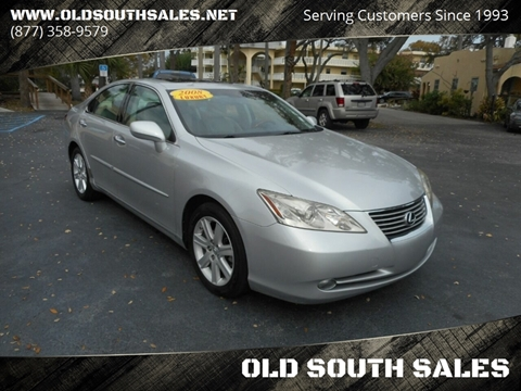 2008 Lexus ES 350 for sale at OLD SOUTH SALES in Vero Beach FL