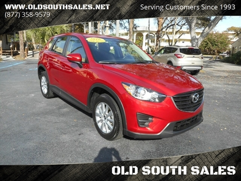 2016 Mazda CX-5 for sale at OLD SOUTH SALES in Vero Beach FL