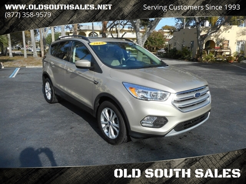 2018 Ford Escape for sale at OLD SOUTH SALES in Vero Beach FL