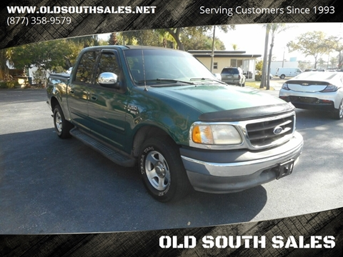2001 Ford F-150 for sale at OLD SOUTH SALES in Vero Beach FL