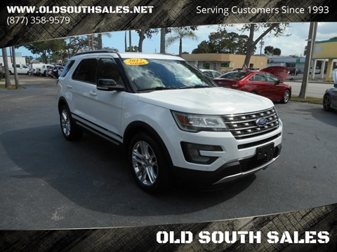 2017 Ford Explorer for sale at OLD SOUTH SALES in Vero Beach FL