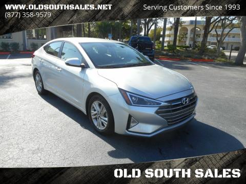 2019 Hyundai Elantra for sale at OLD SOUTH SALES in Vero Beach FL