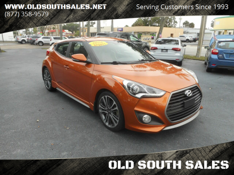 2016 Hyundai Veloster for sale at OLD SOUTH SALES in Vero Beach FL