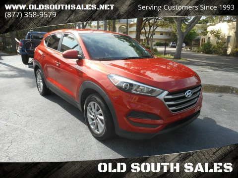 2017 Hyundai Tucson for sale at OLD SOUTH SALES in Vero Beach FL