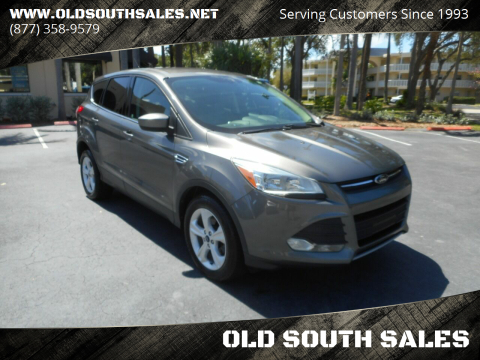 2014 Ford Escape for sale at OLD SOUTH SALES in Vero Beach FL
